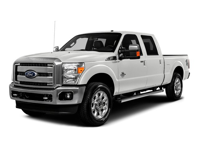Oxford White 2016 Ford Super Duty F-250 SRW Pictures Super Duty F-250 SRW Crew Cab XL 4WD photos front view