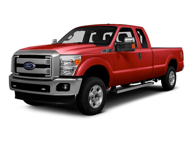 Race Red 2016 Ford Super Duty F-250 SRW Pictures Super Duty F-250 SRW Supercab XLT 2WD photos front view