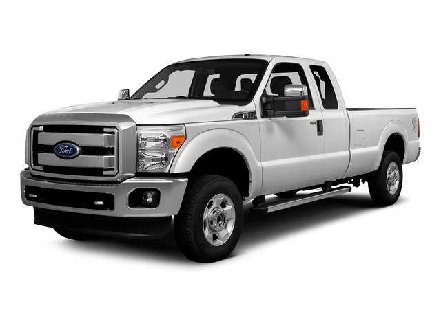 Oxford White 2016 Ford Super Duty F-250 SRW Pictures Super Duty F-250 SRW Supercab XLT 2WD photos front view