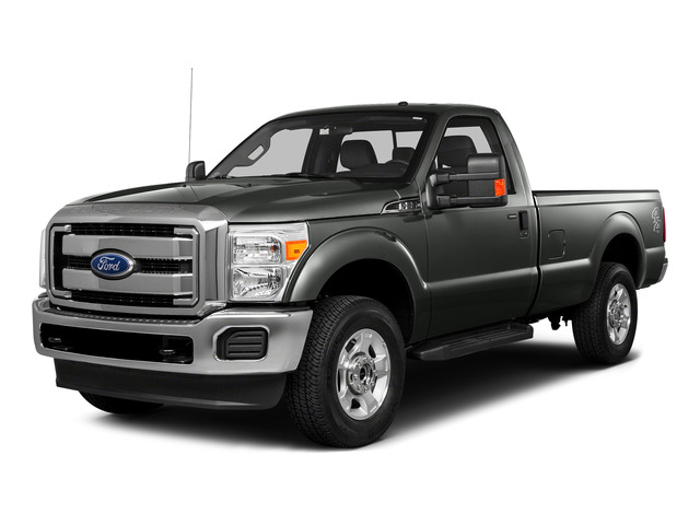 Magnetic Metallic 2016 Ford Super Duty F-250 SRW Pictures Super Duty F-250 SRW Regular Cab XL 2WD photos front view