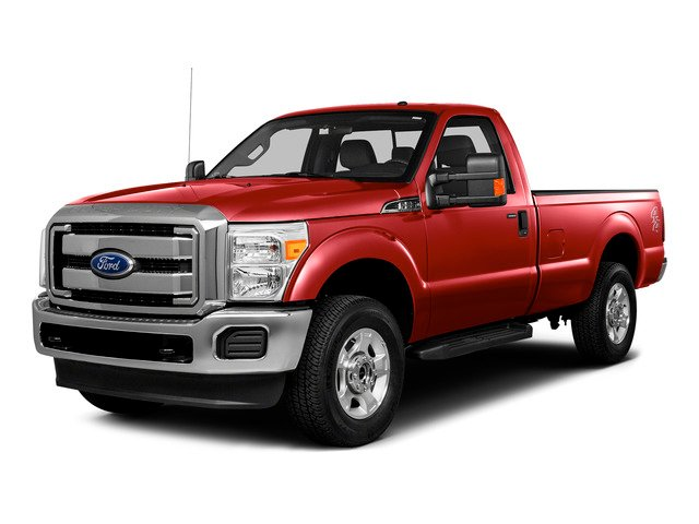 Race Red 2016 Ford Super Duty F-250 SRW Pictures Super Duty F-250 SRW Regular Cab XL 2WD photos front view