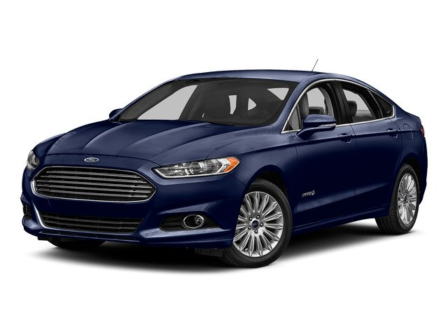 Deep Impact Blue 2016 Ford Fusion Pictures Fusion Sedan 4D S I4 Hybrid photos front view