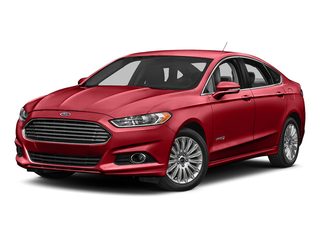 Ruby Red Metallic Tinted Clearcoat 2016 Ford Fusion Pictures Fusion Sedan 4D S I4 Hybrid photos front view