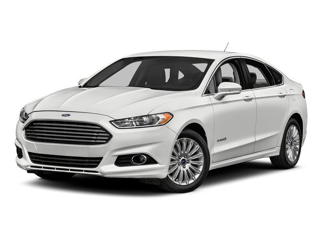 Oxford White 2016 Ford Fusion Pictures Fusion Sedan 4D S I4 Hybrid photos front view