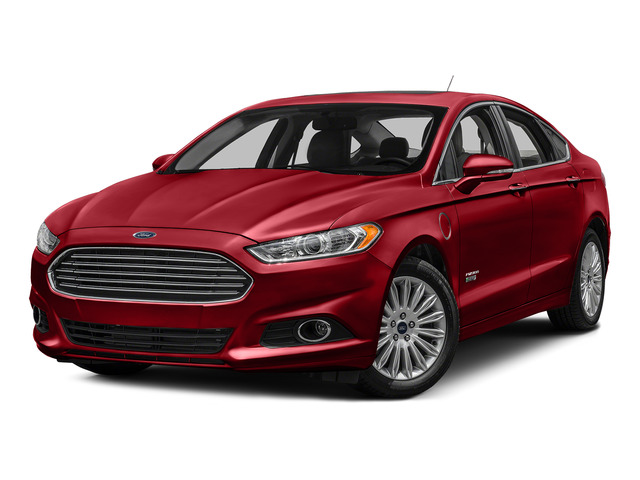Ruby Red Metallic Tinted Clearcoat 2016 Ford Fusion Energi Pictures Fusion Energi Sedan 4D SE Energi I4 Hybrid photos front view