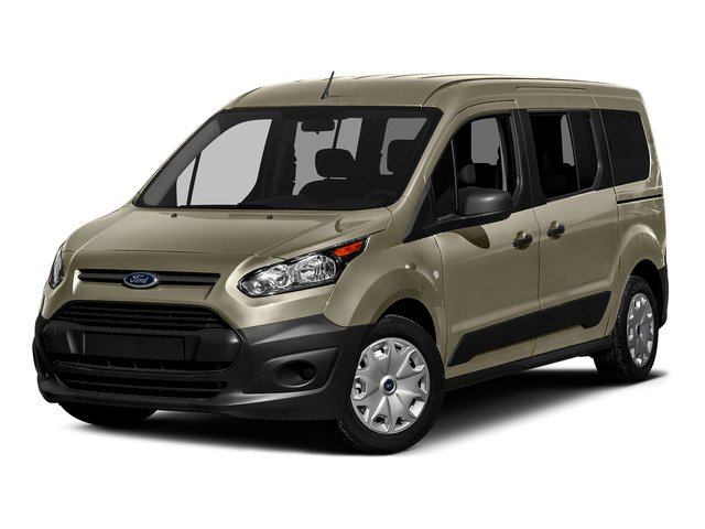 Tectonic Silver Metallic 2016 Ford Transit Connect Wagon Pictures Transit Connect Wagon Extended Passenger Van XL photos front view