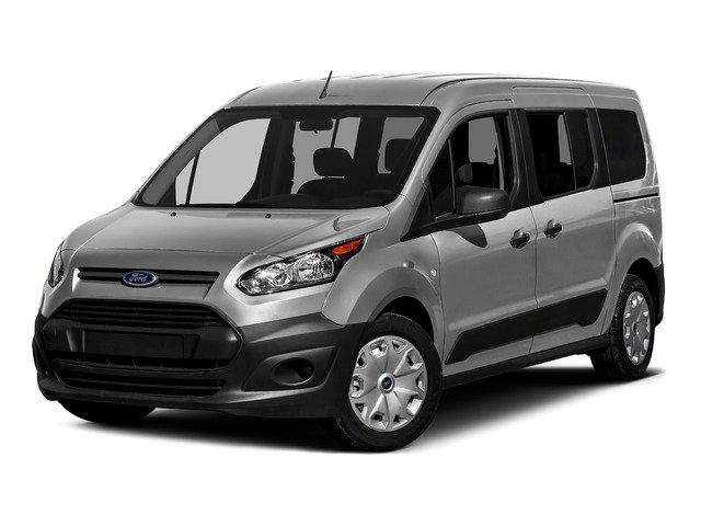 Silver Metallic 2016 Ford Transit Connect Wagon Pictures Transit Connect Wagon Extended Passenger Van XLT photos front view