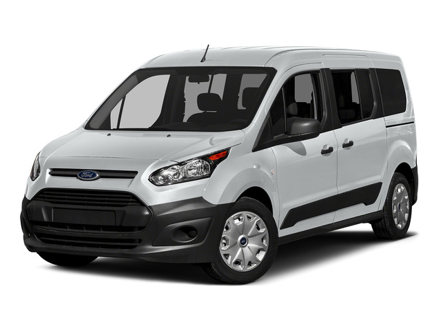Frozen White 2016 Ford Transit Connect Wagon Pictures Transit Connect Wagon Extended Passenger Van XL photos front view