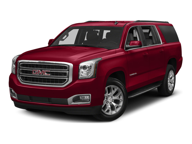 Crimson Red Tintcoat 2016 GMC Yukon XL Pictures Yukon XL Utility 4D SLT 2WD V8 photos front view