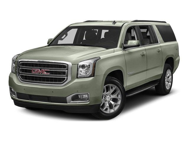 White Frost Tricoat 2016 GMC Yukon XL Pictures Yukon XL Utility 4D SLT 2WD V8 photos front view