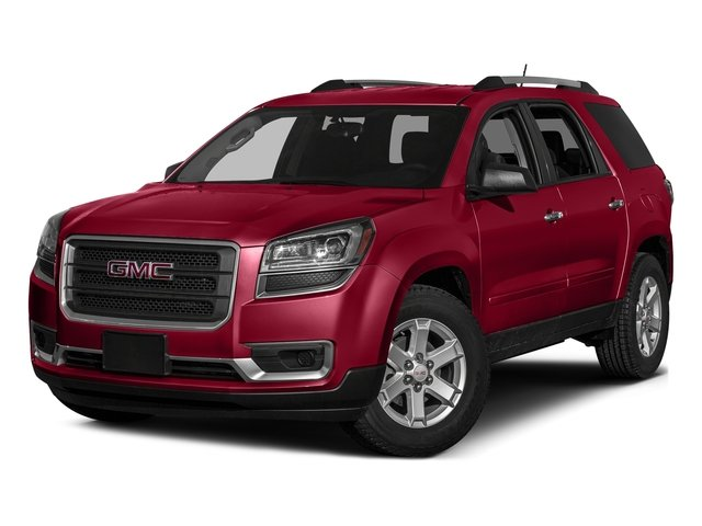 Crimson Red Tintcoat 2016 GMC Acadia Pictures Acadia Utility 4D SLE2 2WD V6 photos front view
