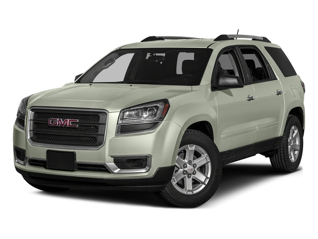 White Frost Tricoat 2016 GMC Acadia Pictures Acadia Utility 4D SLE2 2WD V6 photos front view