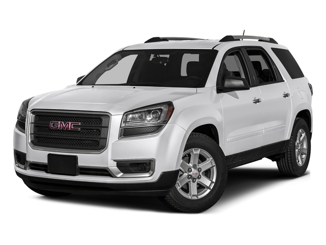 Summit White 2016 GMC Acadia Pictures Acadia Utility 4D SLE2 2WD V6 photos front view