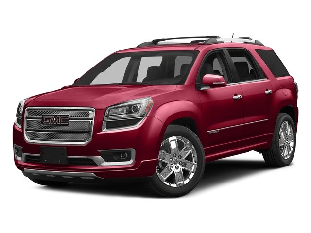 Crimson Red Tintcoat 2016 GMC Acadia Pictures Acadia Utility 4D Denali AWD V6 photos front view