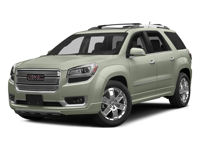 White Frost Tricoat 2016 GMC Acadia Pictures Acadia Utility 4D Denali AWD V6 photos front view