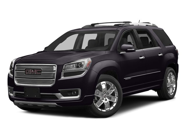 Midnight Amethyst Metallic 2016 Gmc Acadia Pictures Utility 4d Denali Awd V6 Photos Front View