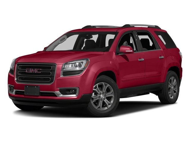 Crimson Red Tintcoat 2016 GMC Acadia Pictures Acadia Utility 4D SLT AWD V6 photos front view