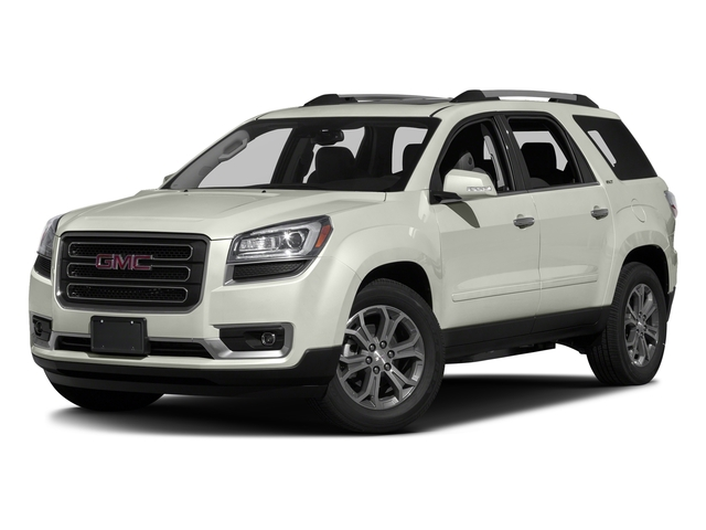 White Frost Tricoat 2016 GMC Acadia Pictures Acadia Utility 4D SLT AWD V6 photos front view