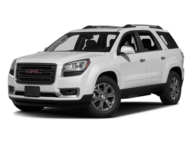 Summit White 2016 GMC Acadia Pictures Acadia Utility 4D SLT AWD V6 photos front view