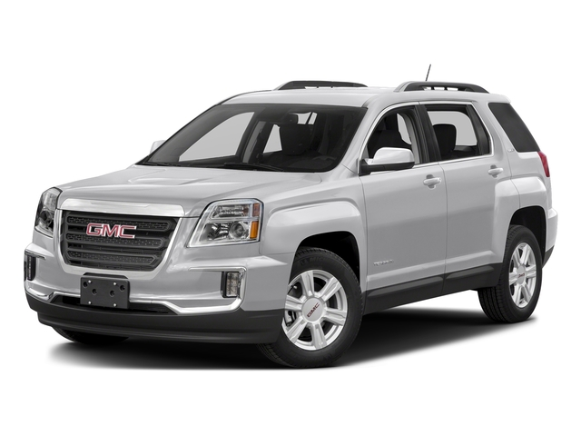 Summit White 2016 GMC Terrain Pictures Terrain Utility 4D SL 2WD photos front view