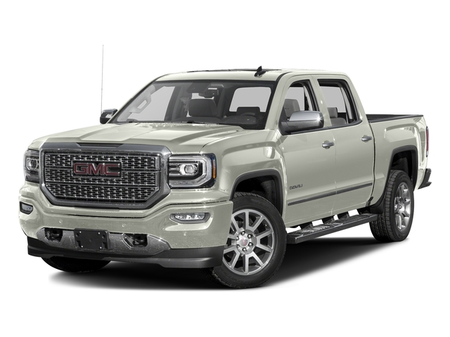 White Frost Tricoat 2016 GMC Sierra 1500 Pictures Sierra 1500 Crew Cab Denali 2WD photos front view