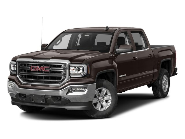 Mahogany Metallic 2016 GMC Sierra 1500 Pictures Sierra 1500 Crew Cab SLE 2WD photos front view