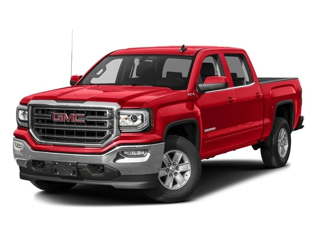 Cardinal Red 2016 GMC Sierra 1500 Pictures Sierra 1500 Crew Cab SLE 2WD photos front view