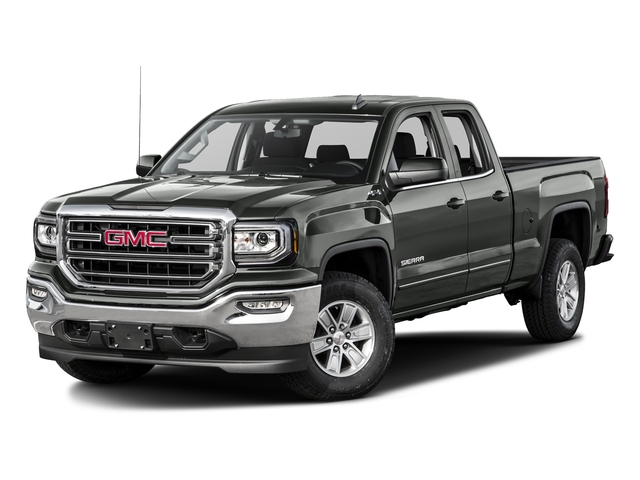 Light Steel Gray Metallic 2016 GMC Sierra 1500 Pictures Sierra 1500 Extended Cab SLE 4WD photos front view
