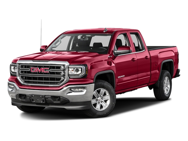 Crimson Red Tintcoat 2016 GMC Sierra 1500 Pictures Sierra 1500 Extended Cab SLE 4WD photos front view