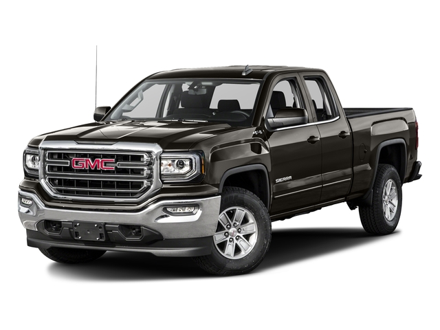 Mahogany Metallic 2016 GMC Sierra 1500 Pictures Sierra 1500 Extended Cab SLE 4WD photos front view