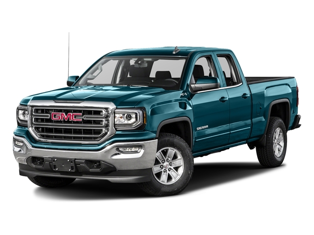 Stone Blue Metallic 2016 GMC Sierra 1500 Pictures Sierra 1500 Extended Cab SLE 4WD photos front view