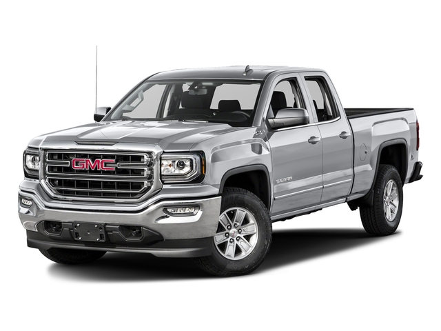 Quicksilver Metallic 2016 GMC Sierra 1500 Pictures Sierra 1500 Extended Cab SLE 4WD photos front view