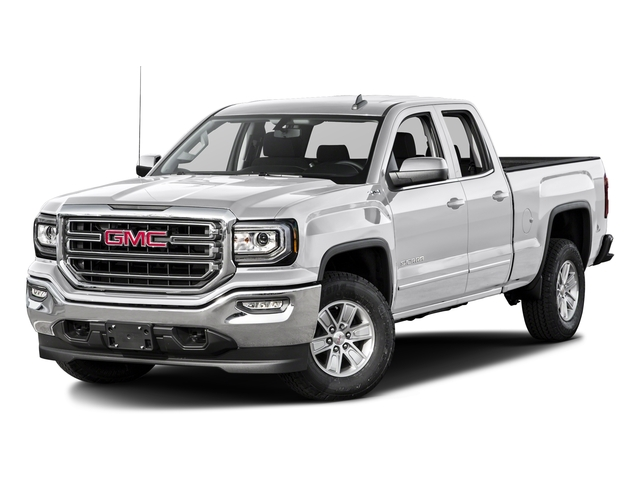 Summit White 2016 GMC Sierra 1500 Pictures Sierra 1500 Extended Cab SLE 4WD photos front view