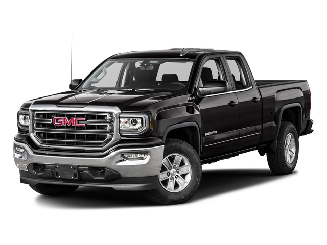 Onyx Black 2016 GMC Sierra 1500 Pictures Sierra 1500 Extended Cab SLE 4WD photos front view