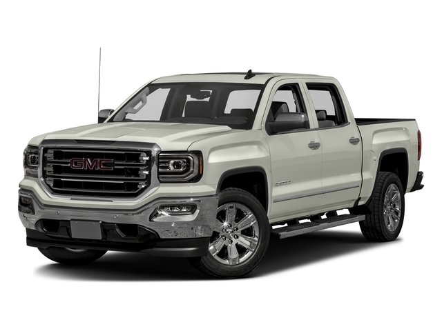 White Frost Tricoat 2016 GMC Sierra 1500 Pictures Sierra 1500 Crew Cab SLT 2WD photos front view