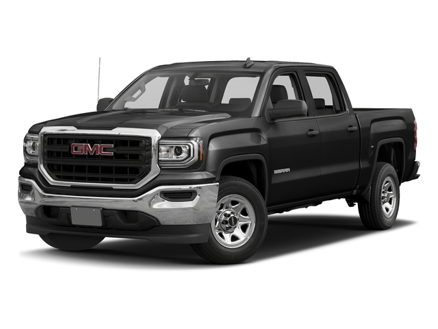 Onyx Black 2016 GMC Sierra 1500 Pictures Sierra 1500 Crew Cab 4WD photos front view