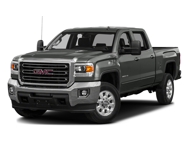 Light Steel Gray Metallic 2016 GMC Sierra 3500HD Pictures Sierra 3500HD Crew Cab 2WD photos front view
