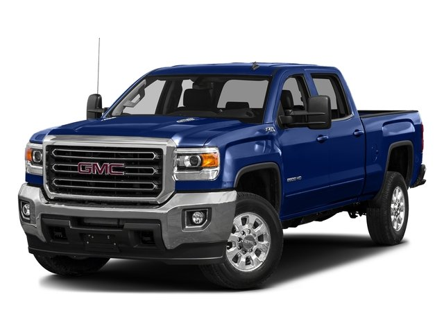 Stone Blue Metallic 2016 GMC Sierra 3500HD Pictures Sierra 3500HD Crew Cab 2WD photos front view