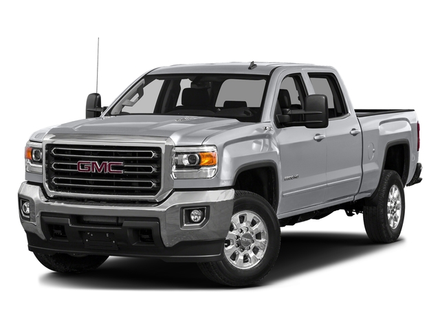 Quicksilver Metallic 2016 GMC Sierra 3500HD Pictures Sierra 3500HD Crew Cab 2WD photos front view