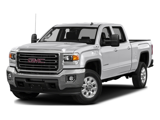 Summit White 2016 GMC Sierra 3500HD Pictures Sierra 3500HD Crew Cab 2WD photos front view
