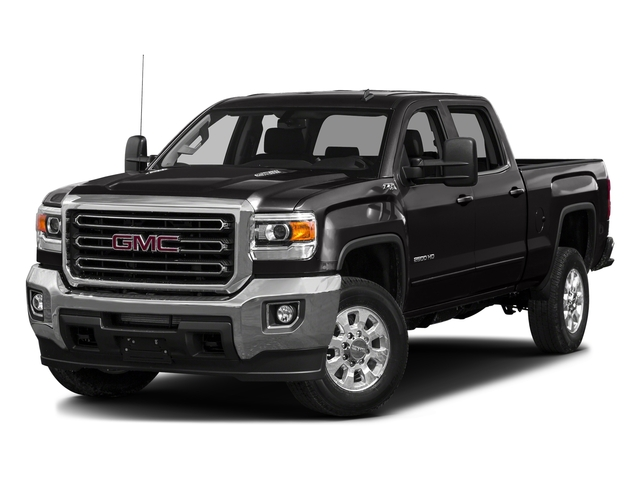 Onyx Black 2016 GMC Sierra 3500HD Pictures Sierra 3500HD Crew Cab 2WD photos front view