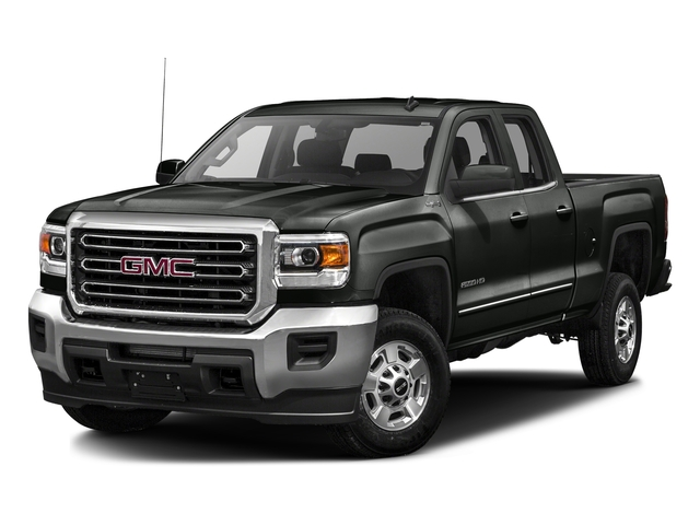Light Steel Gray Metallic 2016 GMC Sierra 2500HD Pictures Sierra 2500HD Extended Cab SLT 2WD photos front view
