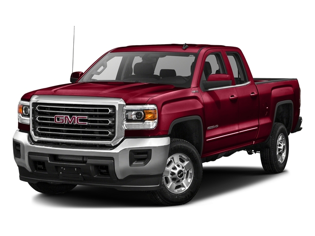 Crimson Red Tintcoat 2016 GMC Sierra 2500HD Pictures Sierra 2500HD Extended Cab SLE 4WD photos front view
