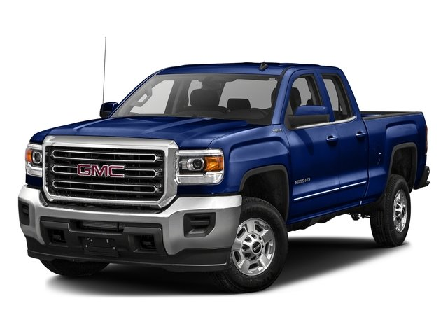 Stone Blue Metallic 2016 GMC Sierra 2500HD Pictures Sierra 2500HD Extended Cab SLT 2WD photos front view