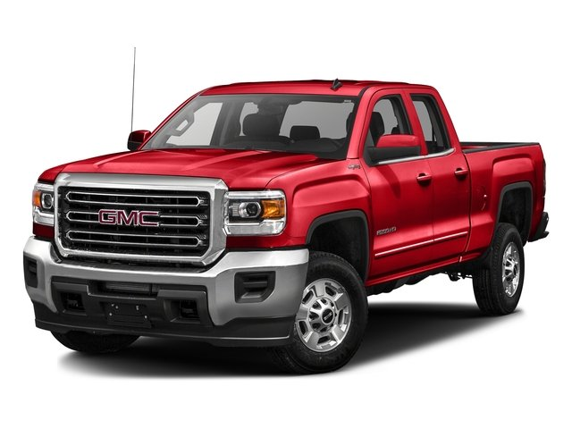 Cardinal Red 2016 GMC Sierra 2500HD Pictures Sierra 2500HD Extended Cab SLE 4WD photos front view