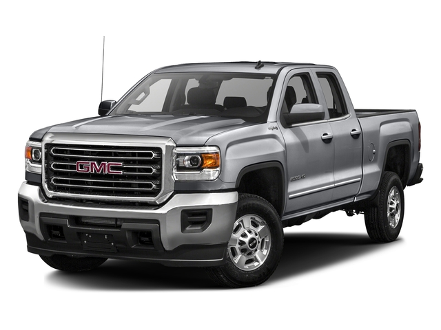Quicksilver Metallic 2016 GMC Sierra 2500HD Pictures Sierra 2500HD Extended Cab SLT 2WD photos front view