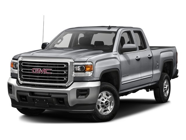 Quicksilver Metallic 2016 GMC Sierra 2500HD Pictures Sierra 2500HD Extended Cab SLE 4WD photos front view