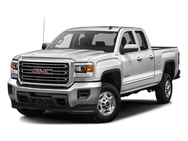 Summit White 2016 GMC Sierra 2500HD Pictures Sierra 2500HD Extended Cab SLE 4WD photos front view