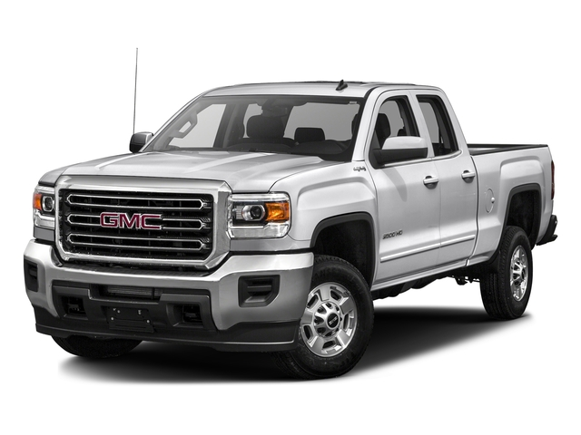 Summit White 2016 GMC Sierra 2500HD Pictures Sierra 2500HD Extended Cab SLT 2WD photos front view