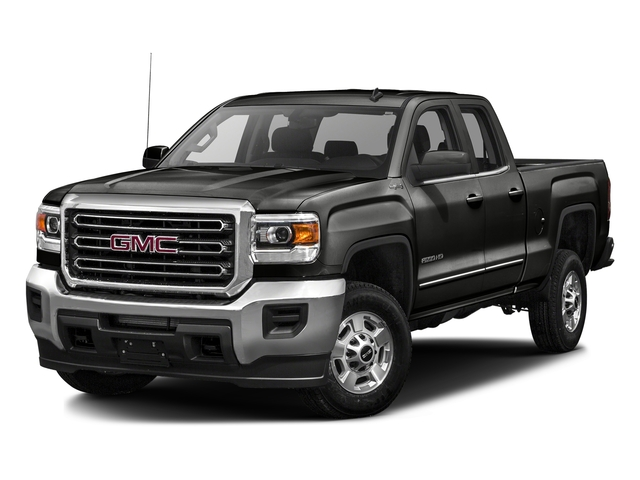 Iridium Metallic 2016 GMC Sierra 2500HD Pictures Sierra 2500HD Extended Cab SLT 2WD photos front view